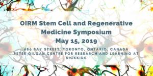 Stem Cells and Regenerative Medicine Annual Symposium